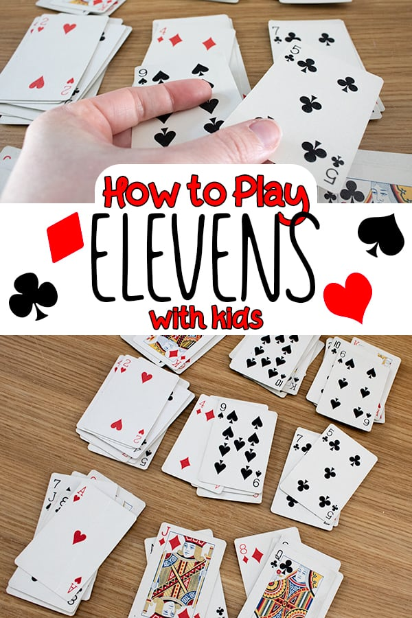 how to play elevens with kids