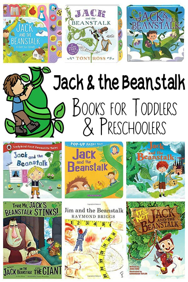 Jack and the beanstalk books for kids.