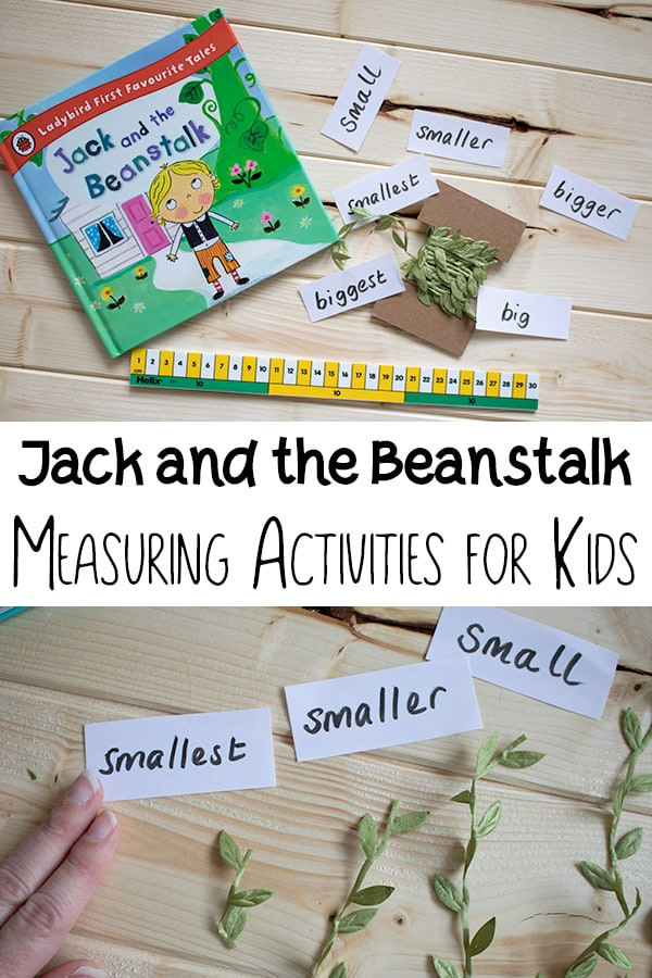 measuring activities for jack and the beanstalk