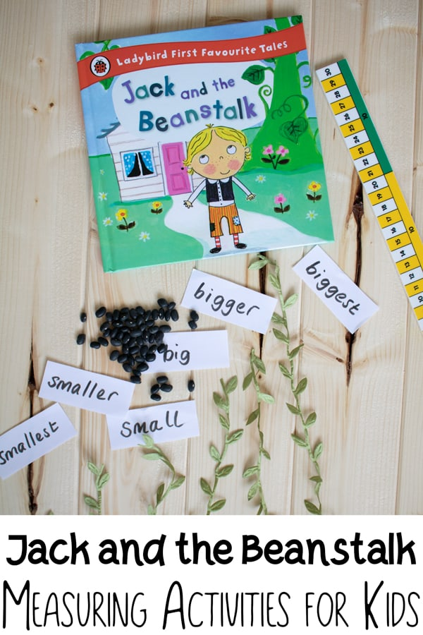 Measuring activities for early years inspired by Jack and the Beanstalk