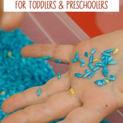 A Year of Simple Sensory Bins for Toddlers and Preschoolers