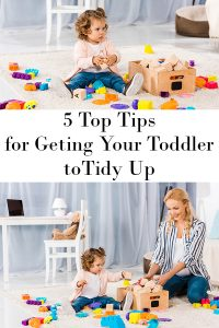 Top tips for getting your toddler to tidy up with no fuss