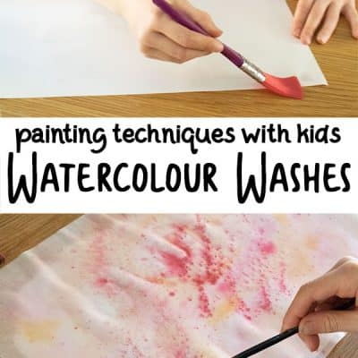 Exploring Hot and Cold Colours with Wet on Wet Watercolour Painting