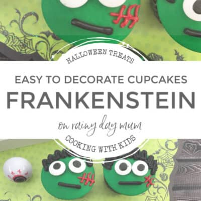 Easy Frankenstein Cupcakes to Make with Kids