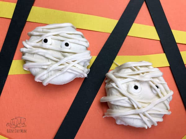 mummy cookies to make with kids
