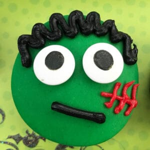 monster cupcakes for kids to make and decorate