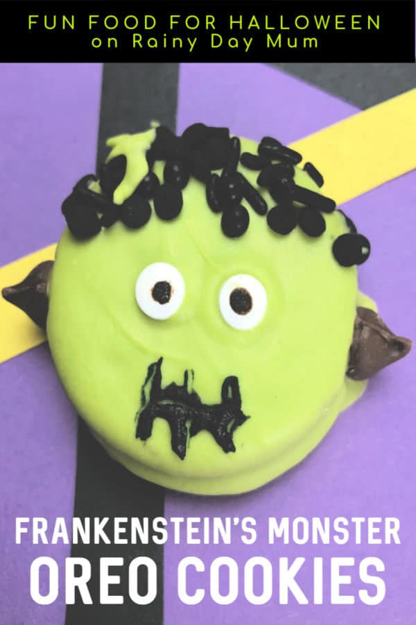 Frankenstein's Monster Oreo Cookies