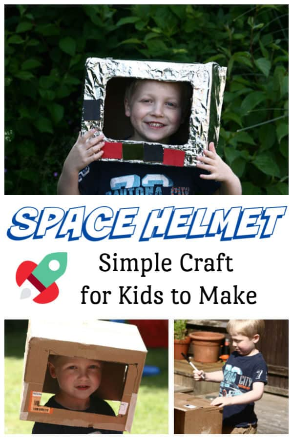 Space themed craft for kids to make
