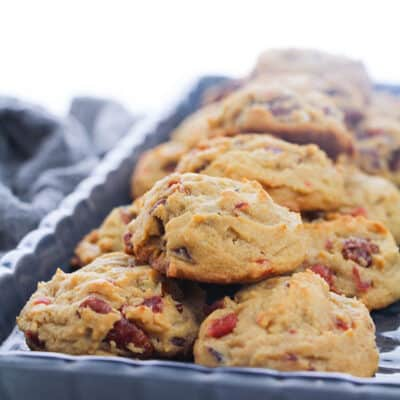 Yummy Pecan and Cherry Cookie Recipe