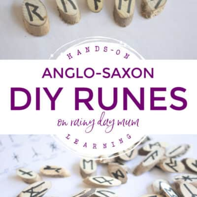 Wooden Runes DIY – Learning about Language in the Middle Ages