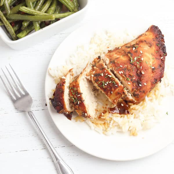 brown sugar and garlic slow cooker chicken breast recipe for families