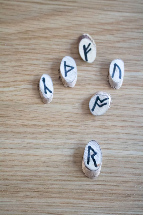 runes for kids to learn about the Anglo-Saxon language as part of History Units
