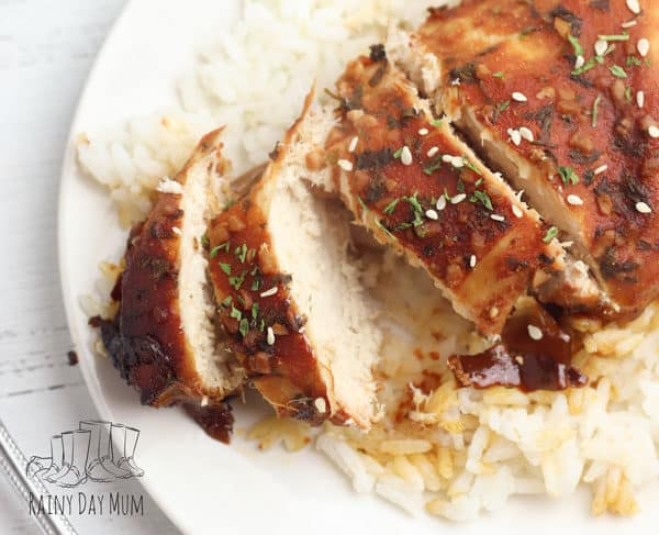 crockpot brown sugar and garlic chicken breasts for family meal ideas