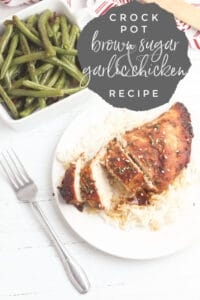 crock pot brown sugar and garlic chicken breasts for family meals
