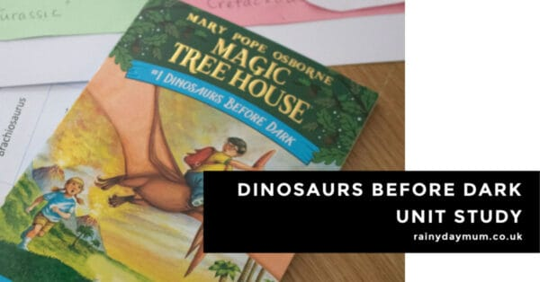 Dinosaurs Before Dark Activities for school kids