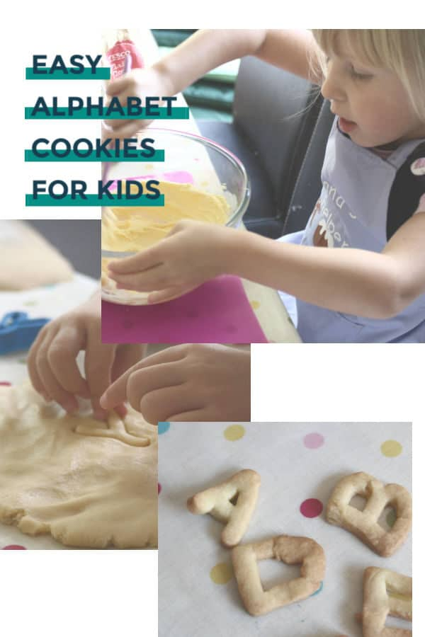 easy alphabet cookies for kids to make