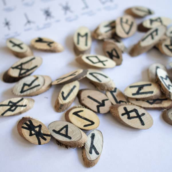 handmade runes for kids to learn with