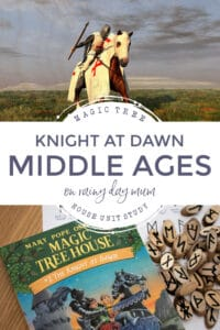 knight at dawn magic tree house book unit study for kids from 6 - 9