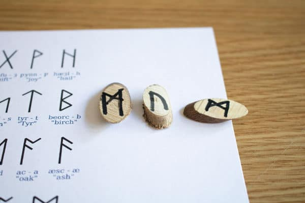spell words out in runes