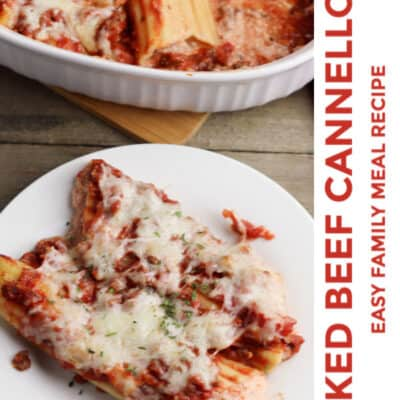 Delicious and Easy Beef Cannelloni Recipe for Families