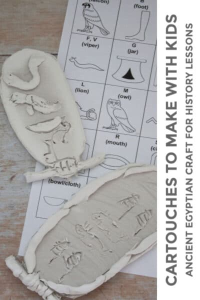 Cartouches to make with kids