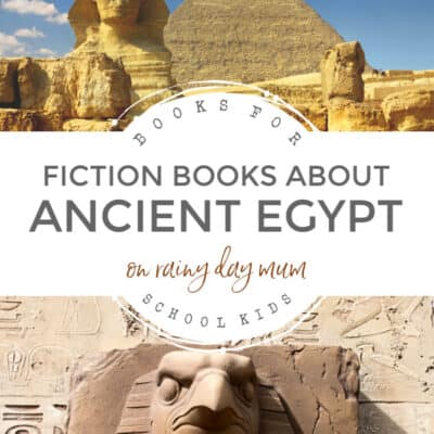 Ancient Egyptian Fiction Books for School Kids