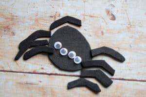 incy wincy spider ready to construct