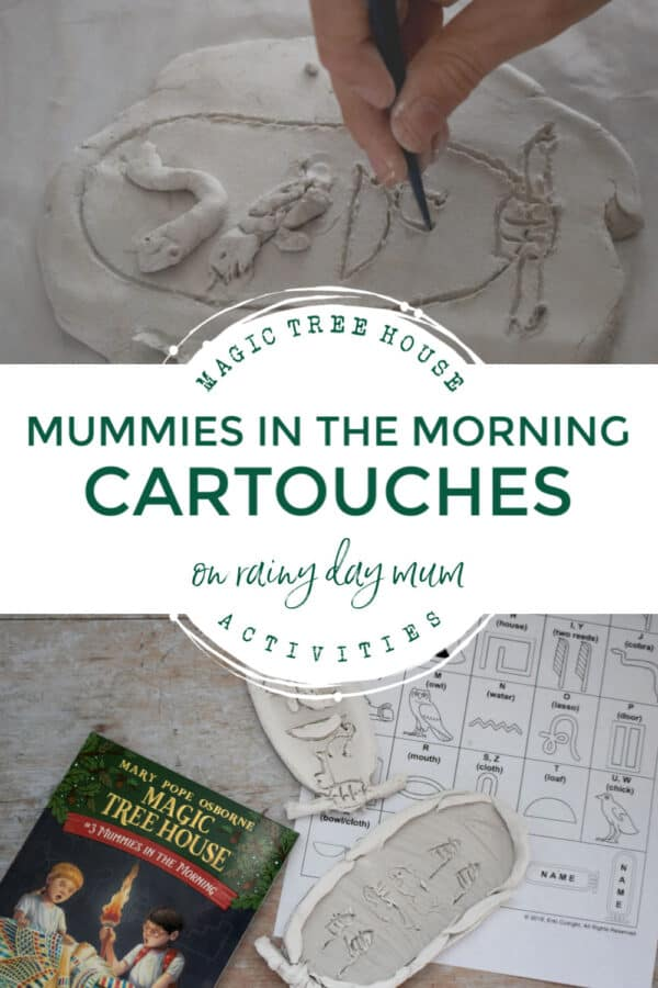 mummies in the morning book 3 of the magic tree house series activity for kids to do