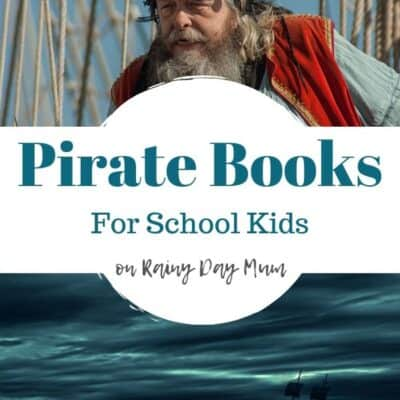 The Best Swashbuckling Pirate Books for School Kids