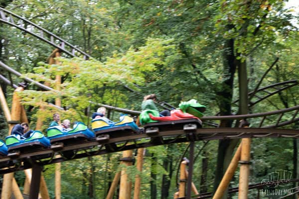 rollercoaster at Duinrell