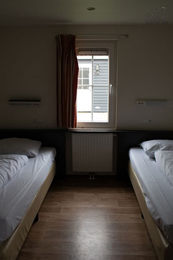 twin room in a premium duingalow at duinrell
