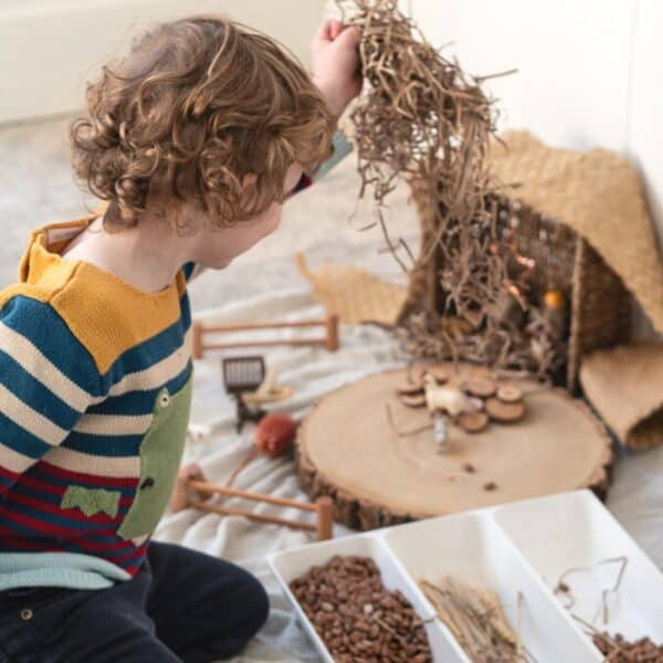 Nativity Sensory Play for Advent
