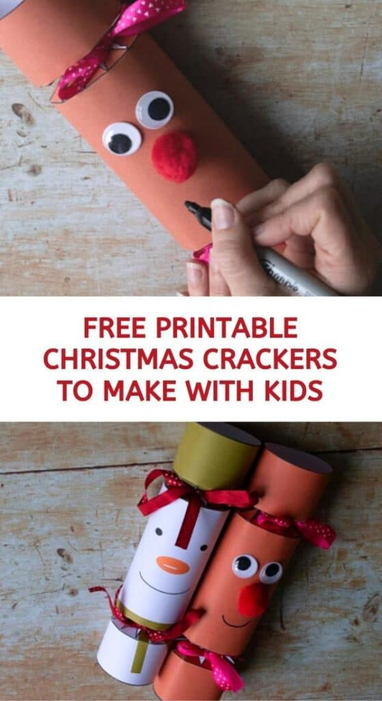 Free Printable Christmas Cracker Characters