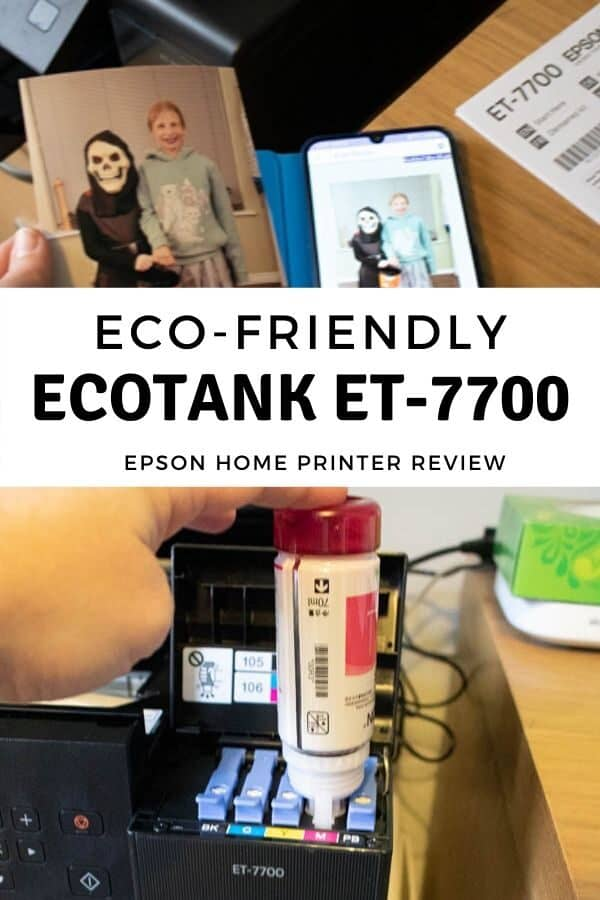 Eco-friendly EcoTank Et-7700 Printer from Epson