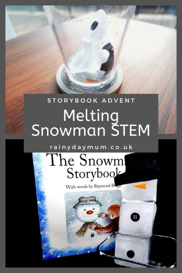 Melting Snowman STEM Activity Inspired by The Snowman by Raymond Briggs