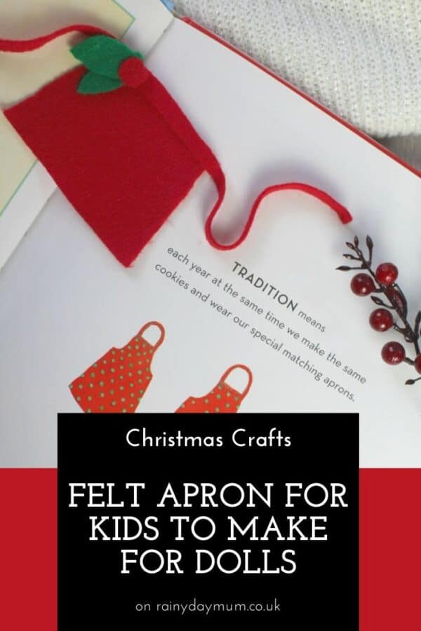 Simple no-sew felt project for kids to make inspired by Christmas Cookies by Amy Krouse Rosenthal and additional fun things to do.