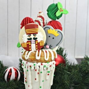Christmas Nutcracker Movie Night Dessert - FREAKSHAKE