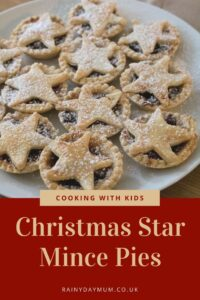 cooking with kids Christmas Star Mince Pies