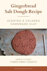 gingerbread salt dough recipe