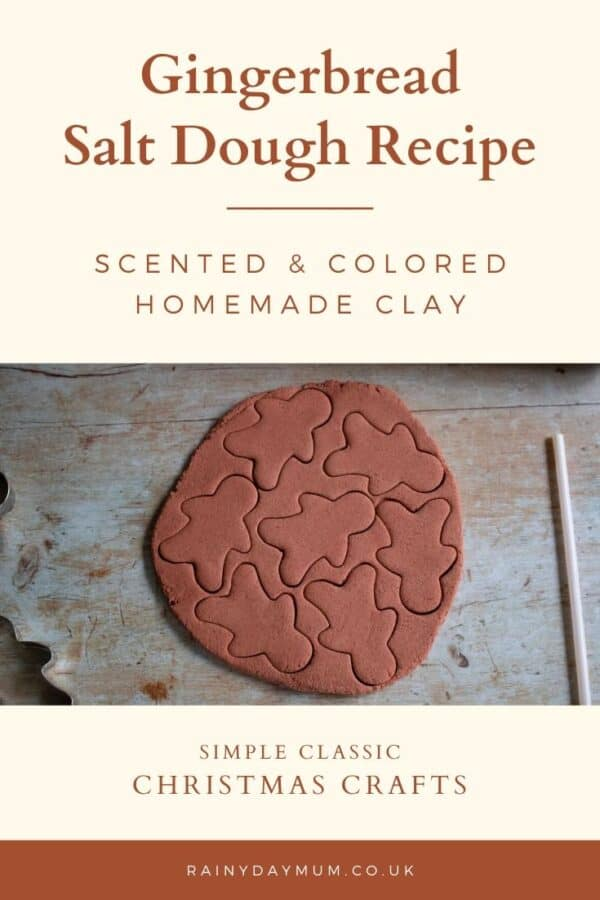 gingerbread salt dough recipe