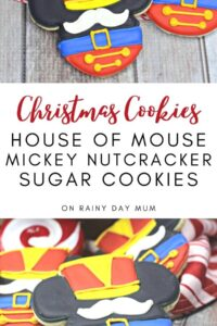 house of mouse mickey nutcracker sugar cookies