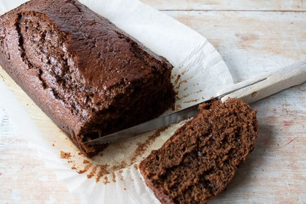 just like grandmothers sticky gingerbread cake
