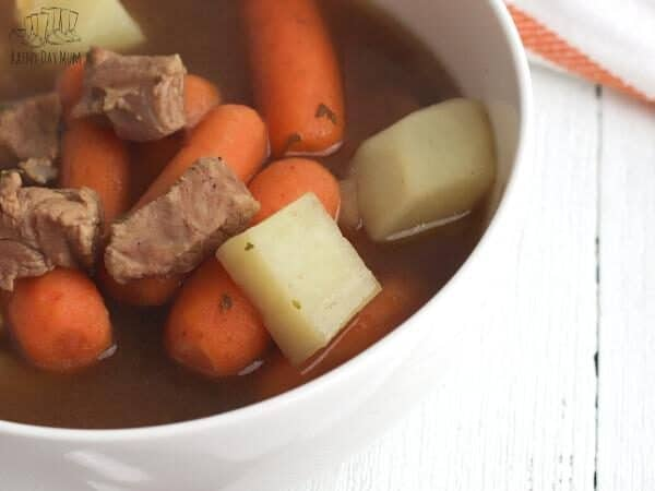 lamb stew a family favourite mid week meal in a bowl