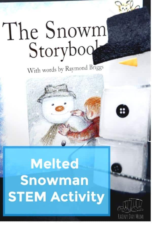 melted snowman STEM Activity