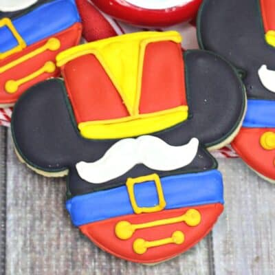 Mickey Mouse Nutcracker Cookies