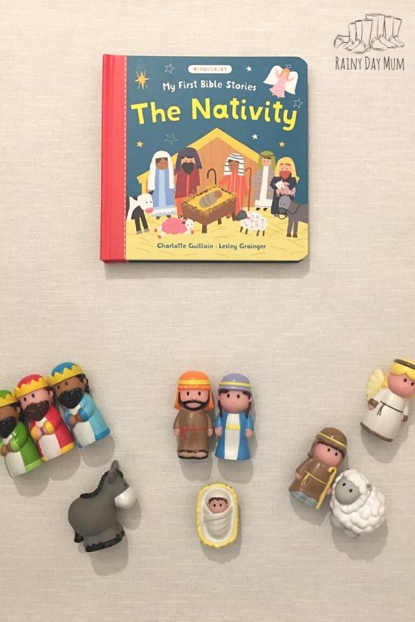 nativity game and play for toddlers