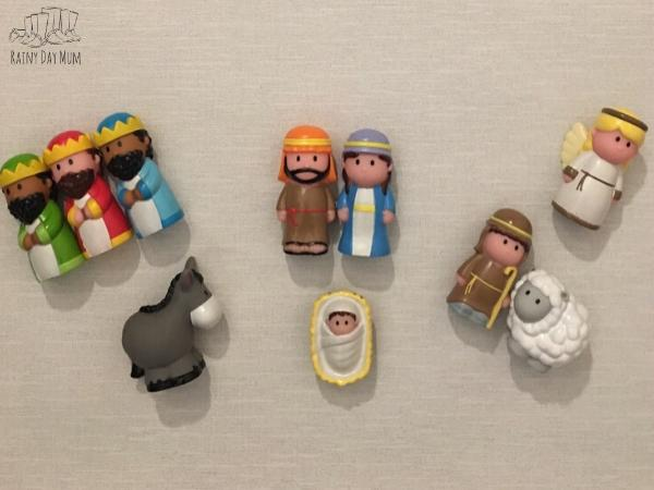 ELC Happy Land Nativity Set