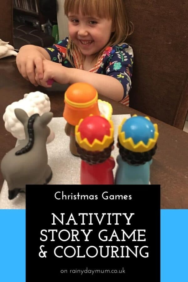 Nativity Story Memory Game for Preschoolers