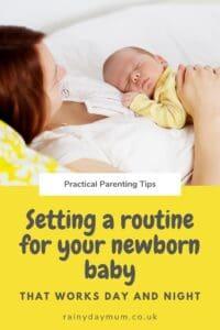 Establishing a Rhythm to Your Days with a Newborn