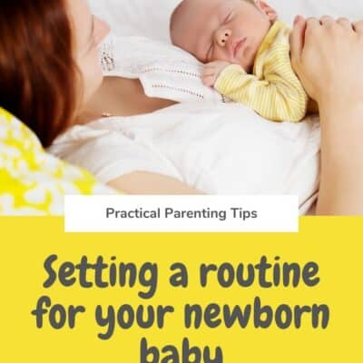 Establishing a Rhythm to Your Days with a Newborn